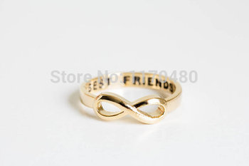 1 Piece-R020 friend infinity rings simple lovely cute love party elegant friends rings infinity rings for women