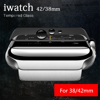 9 H Tam Apple iWatch CoverTempered Cam 38mm 42mm IWatch Klasik Reloj intelig için Ekran Koruyucu Koruyucu cam Filmi