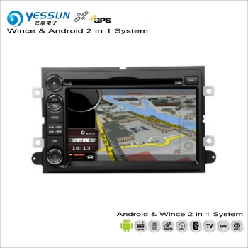 Ford Için YESSUN F-150/F-250/F-350/F-450/F-550 araba Android Multimedya Radyo CD DVD Oynatıcı GPS Navi Navigasyon Ses Video