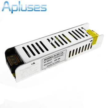 Mini Power Supply 5A 60W DC12V Switch Lighting Transformers LED Driver For LED Strip Light Power Adapter