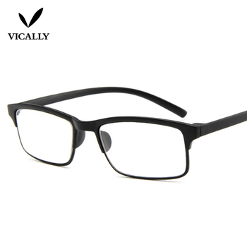 Reading Glasses With Case Box Full Frame Eyewear Men Women Eyeglasses Reading Diopter 1.0 1.5 2.0 2.5 3.0 3.5 4.0