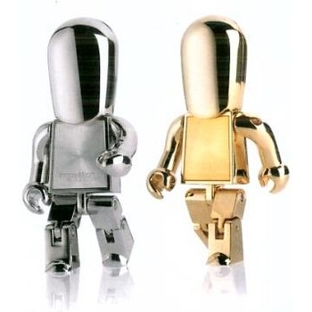 Sıcak Satış USB 3.0 Yüksek Hızlı USB Flash Sürücü Metal Robot Pendrive 64 gb Kalem Sürücü 16 gb 32 gb Flash Bellek Sopa Mini Anahtar 8 gb