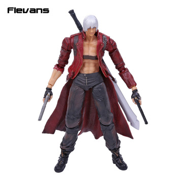 SQUARE ENIX Oyun Sanatlar KAI Devil May Cry 3 Dante PVC Action Figure Koleksiyon Model Oyuncak 25 cm
