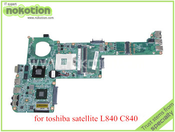 Toshiba satellite C840 NOKOTION DABY3CMB8E0 REV E A000174130 L840 Laptop anakart ATI 216-0810028 HD grafik