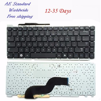 US Laptop Keyboard For Samsung RC410 RC420 RC421 NEW Black English