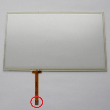 Yeni 7 '' dokunmatik ekran digitizer panel Için Explay PN-970TV 160*96mm
